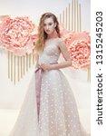 beautiful bride in an expensive ... | Shutterstock . vector #1315245203