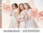 beautiful trio brides in... | Shutterstock . vector #1315245233