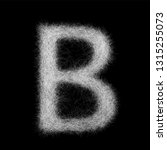capital letter b from fine...