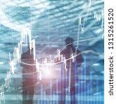 forex trading  financial market ... | Shutterstock . vector #1315261520