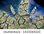 young men wearing shoes... | Shutterstock . vector #1315264223