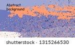 trendy multicolored stripes... | Shutterstock .eps vector #1315266530