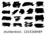 brush strokes. vector... | Shutterstock .eps vector #1315268489