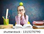 thoughtful elementary school... | Shutterstock . vector #1315270790