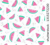 cute seamless pattern with... | Shutterstock .eps vector #1315272230