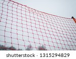 net covered with snow  ice... | Shutterstock . vector #1315294829