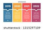business infographics. banner... | Shutterstock .eps vector #1315297109