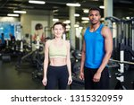 two young active professionals... | Shutterstock . vector #1315320959