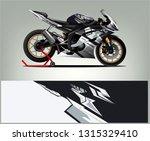 sport bike graphic vector.... | Shutterstock .eps vector #1315329410