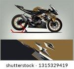sport bike graphic vector.... | Shutterstock .eps vector #1315329419
