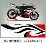 sport bike graphic vector....   Shutterstock .eps vector #1315351646