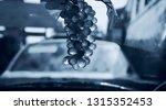 artificial hanging grapes... | Shutterstock . vector #1315352453