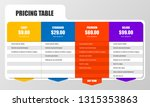 infographic design template.... | Shutterstock .eps vector #1315353863