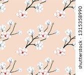 seamless pattern pink pastel... | Shutterstock .eps vector #1315358990