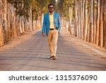 young man wearing stylish dress ... | Shutterstock . vector #1315376090