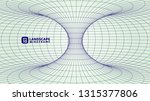 abstract wireframe background.... | Shutterstock .eps vector #1315377806
