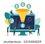 vector illustration  machine... | Shutterstock .eps vector #1315404029