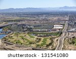 east valley golf course and...   Shutterstock . vector #131541080