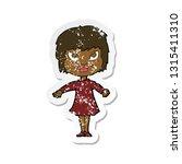 retro distressed sticker of a... | Shutterstock .eps vector #1315411310