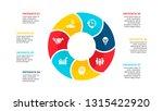 vector flat circle element for... | Shutterstock .eps vector #1315422920