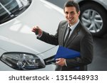 young man consultant in... | Shutterstock . vector #1315448933