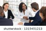 multiracial businessman... | Shutterstock . vector #1315451213