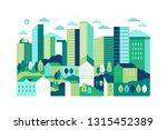 vector illustration in simple... | Shutterstock .eps vector #1315452389