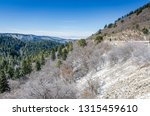 road and mountain view from... | Shutterstock . vector #1315459610