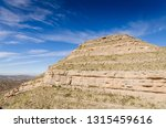 layered rock formation at vista ... | Shutterstock . vector #1315459616