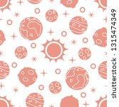 seamless pattern with sun ... | Shutterstock .eps vector #1315474349