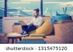 software developer writing... | Shutterstock . vector #1315475120