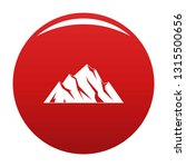 extreme mountain icon. simple... | Shutterstock .eps vector #1315500656
