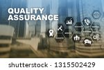the concept of quality... | Shutterstock . vector #1315502429