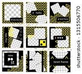 set of trendy templates for... | Shutterstock .eps vector #1315506770