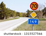 primary road number 149 with... | Shutterstock . vector #1315527566