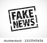 fake news rubber stamp | Shutterstock .eps vector #1315545656
