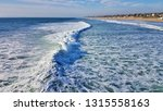 Ocean Waves And White Wash...
