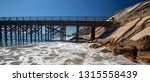 fishing pier and boat hoist at... | Shutterstock . vector #1315558439