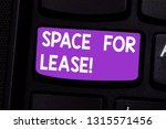 writing note showing space for... | Shutterstock . vector #1315571456