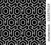 hexagons  figures ornament.... | Shutterstock .eps vector #1315575119