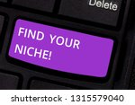 text sign showing find your... | Shutterstock . vector #1315579040