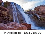 waterfall new mexico | Shutterstock . vector #1315610390