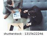 businessman is in meeting... | Shutterstock . vector #1315622246