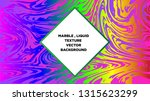 mixture of acrylic paints.... | Shutterstock .eps vector #1315623299