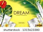 cosmetic skin care cream... | Shutterstock .eps vector #1315623380