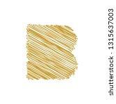 modern trendy b letter unique... | Shutterstock .eps vector #1315637003