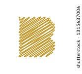 modern trendy b letter unique... | Shutterstock .eps vector #1315637006