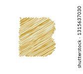 modern trendy b letter unique... | Shutterstock .eps vector #1315637030
