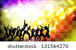 dance party. vector | Shutterstock .eps vector #131564270