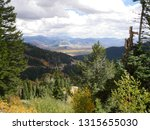 Jackson WY from the Pass in autumn. This is the only time I